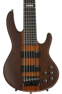ESP LTD D-6 - 6 string Natural Satin