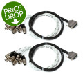 Pro Co (2) DA88XF-5 - Analog DB25/XLRF Patch Snake, 5' 2-Pack