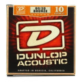 Dunlop DAB1048 80/20 Bronze Extra Light Acoustic StringsDAB1048 80/20 Bronze Extra Light Acoustic Strings