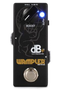 Wampler dB+ V2 Buffer / Clean Boost Pedal