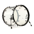 DW Design Series Clear Acrylic Bass Drum - 18x22