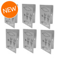 Auralex Deep6 Corner Mounting Kit - Includes (6) CTC Impaling Clips Deep6 Corner Mounting Kit - Includes (6) CTC Impaling Clips
