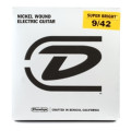 Dunlop DESBN0942 Super Bright Electric Strings - .009-.042 LightDESBN0942 Super Bright Electric Strings - .009-.042 Light