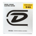 Dunlop Super Bright Electric Strings - .009-.065, Light 8-StringSuper Bright Electric Strings - .009-.065, Light 8-String