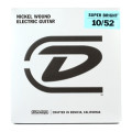 Dunlop Super Bright Electric Strings - .010-.052, Medium HybridSuper Bright Electric Strings - .010-.052, Medium Hybrid