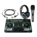 Roland DJ808 with Sennheiser HD6 Mix, e835 S, and CableDJ808 with Sennheiser HD6 Mix, e835 S, and Cable