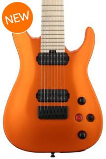 Jackson DKA8 Pro Series Dinky - Satin Orange Blaze