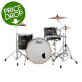 Pearl Decade Maple Shell Pack - 3pc - Satin Blackburst