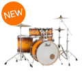 Pearl Decade Maple Shell Pack - 5pc - Classic Satin Amburst