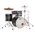 Pearl Decade Maple Shell Pack - 5pc - Satin BlackburstDecade Maple Shell Pack - 5pc - Satin Blackburst