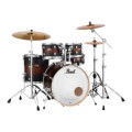 Pearl Decade Maple Shell Pack - 5pc - Satin BrownburstDecade Maple Shell Pack - 5pc - Satin Brownburst