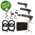 Shure DMK57-52 with Stand and Cables Package