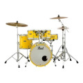 Pearl Decade Maple Shell Pack - 5pc Fusion - Solid YellowDecade Maple Shell Pack - 5pc Fusion - Solid Yellow
