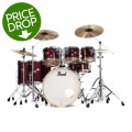 Pearl Decade Maple Shell Pack - 7pc - Crimson Galaxy Flake WrapDecade Maple Shell Pack - 7pc - Crimson Galaxy Flake Wrap