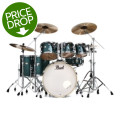Pearl Decade Maple Shell Pack - 7pc - Ocean Galaxy Flake WrapDecade Maple Shell Pack - 7pc - Ocean Galaxy Flake Wrap