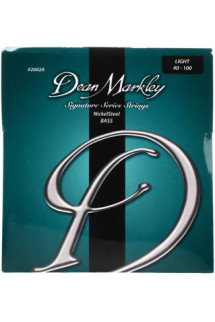 Dean Markley 2602A Nickel Steel Bass Guitar Strings - .040-.100 Light