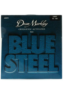 Dean Markley 2672 Blue Steel Bass Guitar Strings - .045-.100 Light