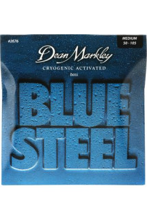 Dean Markley 2676 Blue Steel Bass Guitar Strings - .050-.105 Medium