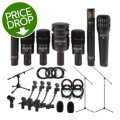 Audix DP7 Drum Package - with Stands and Cables