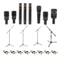 Audix DP7 Plus Drum Package - with Stands and CablesDP7 Plus Drum Package - with Stands and Cables