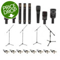 Audix DP7 Plus Drum Package with Stands and CablesDP7 Plus Drum Package with Stands and Cables