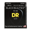 DR Strings BKE-10 Black Beauties K3 Coated Medium Electric Guitar StringsBKE-10 Black Beauties K3 Coated Medium Electric Guitar Strings