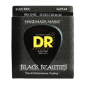DR Strings BKE-10/52 Black Beauties K3 Coated Big and Heavy Electric Guitar Strings