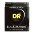 DR Strings BKE-9 Black Beauties K3 Coated Lite Electric Guitar Strings