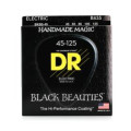 DR Strings BKB5-45 Black Beauties Coated Steel Medium 5-String Bass Strings