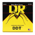 DR Strings DDT5-45 Drop-Down Tuning Nickel Plated Steel Medium 5-String Bass Strings