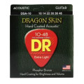 DR Strings DSA-10 Dragon-Skin Phosphor Bronze Lite Coated Acoustic StringsDSA-10 Dragon-Skin Phosphor Bronze Lite Coated Acoustic Strings