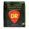 DR Strings DSA-11 Dragon-Skin Phosphor Bronze Medium Lite Coated Acoustic StringsDSA-11 Dragon-Skin Phosphor Bronze Medium Lite Coated Acoustic Strings
