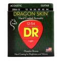 DR Strings DSA-12 Dragon-Skin Phosphor Bronze Medium Coated Acoustic StringsDSA-12 Dragon-Skin Phosphor Bronze Medium Coated Acoustic Strings