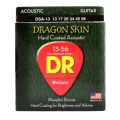 DR Strings DSA-13 Dragon-Skin Phosphor Bronze Medium Heavy Coated Acoustic StringsDSA-13 Dragon-Skin Phosphor Bronze Medium Heavy Coated Acoustic Strings