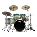 DW Collector's Series Exotic Maple Shell Pack - 5-pc, Quick Regal Blue Burst over Quilted MapleCollector's Series Exotic Maple Shell Pack - 5-pc, Quick Regal Blue Burst over Quilted Maple