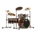 DW Collector's Exotic Shell Pack - 5-pc - Twisted Santos Rosewood with Nickel Hardware