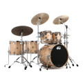 DW Collector's Exotic Shell Pack 5-piece - Natural Quilted MapleCollector's Exotic Shell Pack 5-piece - Natural Quilted Maple