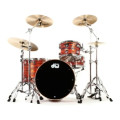 DW Collector's Series FinishPly Maple/Mahogany Shell Pack - 4-pc - Tiger OysterCollector's Series FinishPly Maple/Mahogany Shell Pack - 4-pc - Tiger Oyster