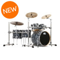 DW Collector's Series Shell Pack - 5-pc - Black Oyster Finish Ply