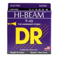 DR Strings LHR-9 Hi-Beam Nickel Plated Lite-Heavy Electric Strings