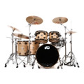 DW Collector's Series Pure Oak Shell Pack - 5-pc - Natural Satin Oak