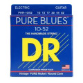 DR Strings PHR-10/52 Pure Blues Pure Nickel Big & Heavy Electic Guitar StringsPHR-10/52 Pure Blues Pure Nickel Big & Heavy Electic Guitar Strings