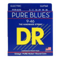 DR Strings PHR-9/46 Pure Blues Pure Nickel Lite & Heavy Electic Guitar Strings