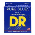DR Strings PHR-11 Pure Blues Pure Nickel Heavy Electic Guitar Strings