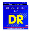 DR Strings PHR-9 Pure Blues Pure Nickel Lite Electric Guitar Strings