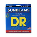 DR Strings NMR-45 Sunbeams Nickel Plated Medium Bass StringsNMR-45 Sunbeams Nickel Plated Medium Bass Strings