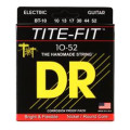 DR Strings BT-10 Tite-Fit Compression Wound Big-Heavy Electric Guitar Strings
