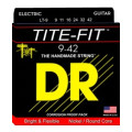 DR Strings LT-9 Tite-Fit Compression Wound Lite Electric Guitar Strings