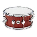 DW Collector's Purpleheart Wood Snare Drum - 6.5