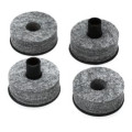 DW Top and Bottom Cymbal Felts - 2 pair